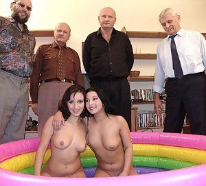 Old Man and Young Lesbian Porn Pictures