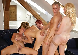 Lesbian Reverse Gangbang Porn Pictures